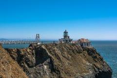 Punto Bonita Lighthouse, California Imágenes de archivo libres de regalías