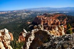 Punto Bryce Canyon National Park del arco iris imagen de archivo libre de regalías