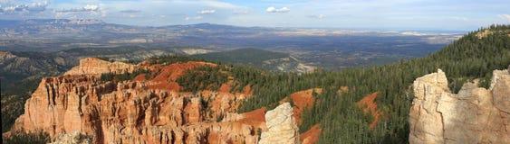 Punto Bryce Canyon National Park dell'arcobaleno Fotografia Stock Libera da Diritti
