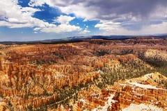 Punto Bryce Canyon National Park Utah de la inspiración imágenes de archivo libres de regalías