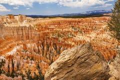 Punto Bryce Canyon National Park Utah de la inspiración de las malas sombras Imágenes de archivo libres de regalías