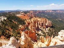 Punto Bryce Canyon Utah Hoodoos dell'arcobaleno fotografie stock