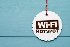 Punto caldo di Wi-Fi immagini stock