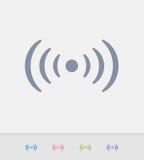 Punto caldo di WiFi - icone del granito royalty illustrazione gratis