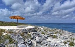 Punto calmo sull'isola fotografia stock libera da diritti
