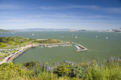 Punto Cavllo e Travis Marine, San Francisco, California, U.S.A. Immagini Stock