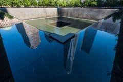 punto cero de 911 monumentos Imagen de archivo