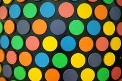Punto Colourful di poka fotografia stock