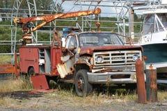 Punto d'arrugginimento Alaska della sabbia del camion Immagini Stock Libere da Diritti