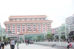 Punto de control de Lo Wu en el ¼ ŒAsia de Œchinaï del ¼ del shenzhenï Imágenes de archivo libres de regalías