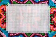 Punto de cruz imagen de archivo