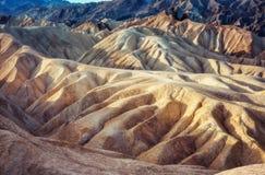 Punto de Death Valley Zabriski Fotos de archivo