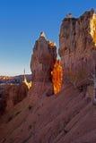 Punto de la puesta del sol Bryce Canyon Fotografía de archivo libre de regalías