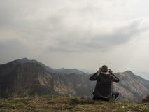 Punto de las montañas Fotografía de archivo libre de regalías