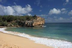 Punto de Makawehi en Kauai Imagen de archivo