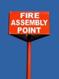 Punto de montaje del fuego Imagen de archivo libre de regalías