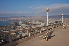 Punto de opinión de Arica Foto de archivo libre de regalías