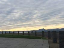Punto de opinión de Astoria Oregon Fotografía de archivo