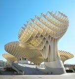 Punto de opinión de Metropol en Sevilla, cerdas de Las españa Imagen de archivo libre de regalías