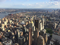 Punto de opinión de New York City Fotos de archivo