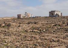 Punto de Paso Chico auf der Insel Fuerteventura Stockbilder