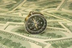 Punto de referencia financiero Fotos de archivo libres de regalías
