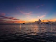 Punto de visión en la más situado más al sur de los E.E.U.U. en Key West Fotografía de archivo