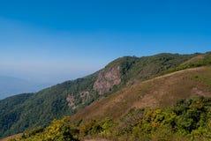 Punto de visión en la naturaleza hermosa de la montaña para el adventur del viaje Imagen de archivo libre de regalías
