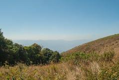 Punto de visión en la naturaleza hermosa de la montaña para el adventur del viaje Imagen de archivo