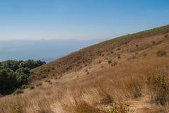 Punto de visión en la naturaleza hermosa de la montaña para el adventur del viaje Foto de archivo libre de regalías