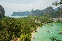 Punto de visión turístico de la bahía de la endecha de Rai Imagen de archivo libre de regalías