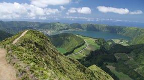 Punto de vista Azores 02 Foto de archivo libre de regalías