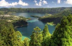 Punto de vista Azores Imagenes de archivo