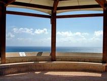 Punto de vista azul Imagen de archivo