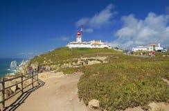 Punto de vista de Cabo DA Roca Fotos de archivo