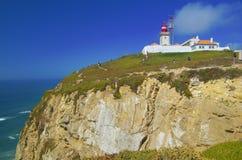 Punto de vista de Cabo DA Roca Fotos de archivo libres de regalías