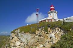 Punto de vista de Cabo DA Roca Imagen de archivo