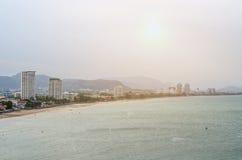 Punto de vista de Huahin en Khao Takiap Imagen de archivo libre de regalías