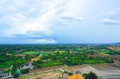 Punto de vista de Kanchanaburi Fotos de archivo