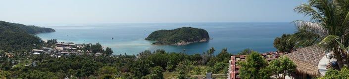 Punto de vista de Koh Phangan Foto de archivo libre de regalías