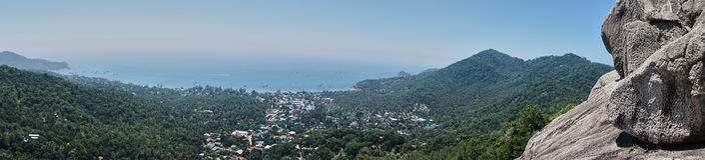 Punto de vista de Koh Tao foto de archivo
