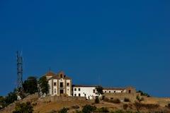 Punto de vista de la iglesia de San Nicolas Granada, España Fotos de archivo