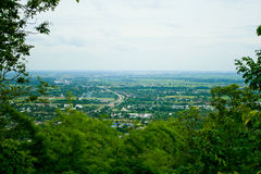 Punto de vista de Phitsanulok imagen de archivo