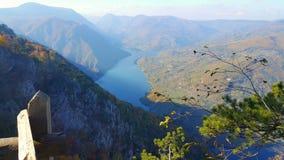 Punto de vista de Tara Mountain Fotografía de archivo libre de regalías