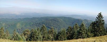 Punto de vista del pico Imagen de archivo libre de regalías