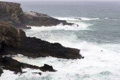 Punto de vista del ` s de Skellig, manera atlántica salvaje, Irlanda fotografía de archivo