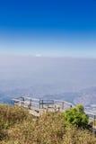 Punto de vista en las montañas Fotografía de archivo