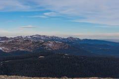 Punto de vista en Rocky Mountain NP Fotografía de archivo libre de regalías