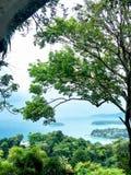 Punto de vista de Khao Karon fotos de archivo