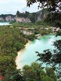 Punto de vista de Railay, Krabi Fotos de archivo libres de regalías